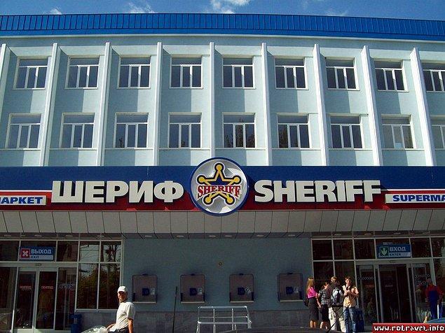 Kulübün kuruluş hikayesi de ilginç. Sheriff, aslında iki eski KGB subayının Sovyetlerin dağılmasından sonra Transdinyester bölgesinde kurdukları bir şirketler grubunun adı.