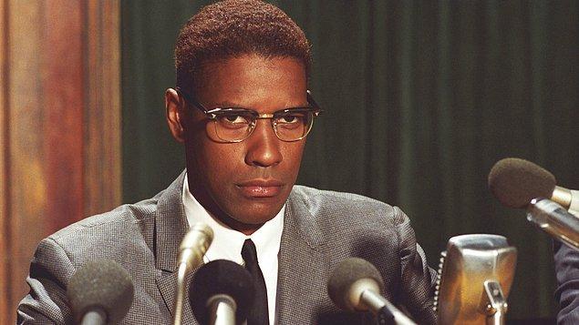 18. Malcolm X, 1992