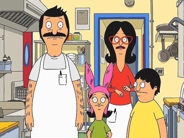8. Bob's Burgers (2011- ) - IMDb: 8.1