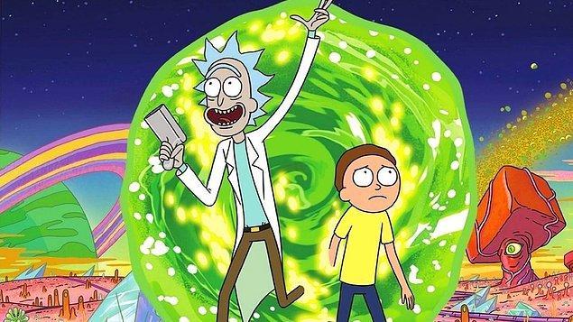1. Rick and Morty (2013- ) - IMDb: 9.2