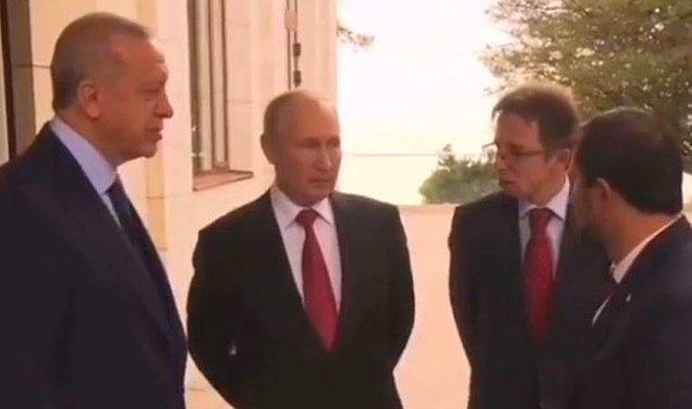 Buna rağmen kendisine bir şey olmadığını anlatan Putin, antikorunun çok yüksek olduğunu söyledi.