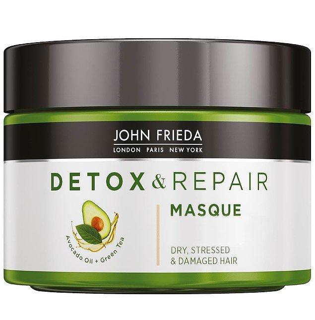 10. John Frieda Detoks Etkili Onarıcı ve Besleyici Bakım Maskesi