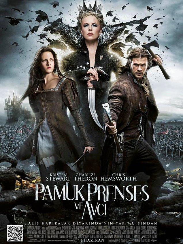 9. Snow White and the Huntsman / Pamuk Prenses ve Avcı (2012) – IMDb: 6.1