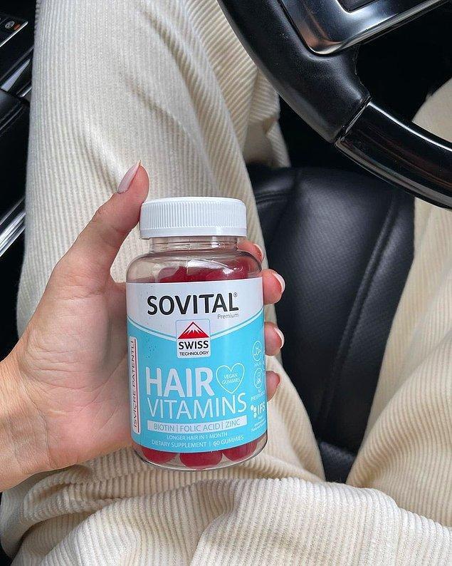 11. SOVITAL Saç Vitamini
