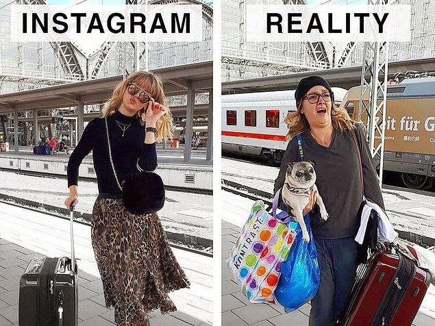 """Artık hayatımızı """"Instagram'da nasıl daha estetik gösterebilirim?"""" diye düşünerek yaşamaya başladık."""