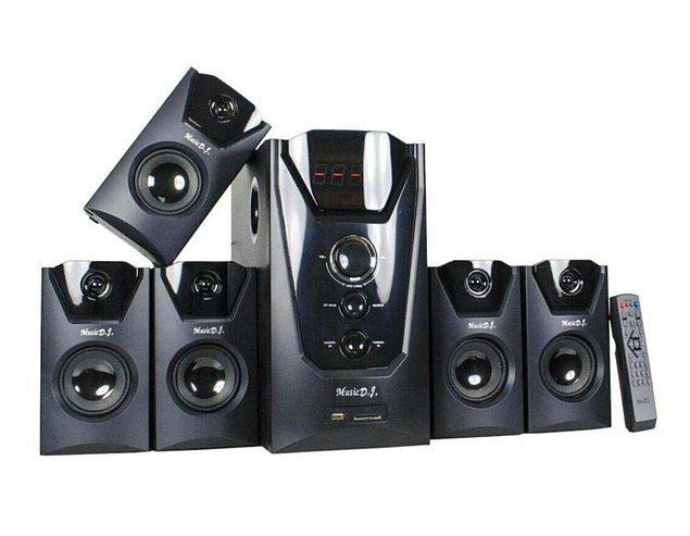 5. Kablolu ve kablosuz kullanımıyla mutsuz etmeyecek bir 5+1 ses sistemi!