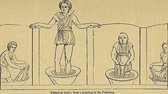 9. Romalılar için çiş harika bir temizleyiciydi.
