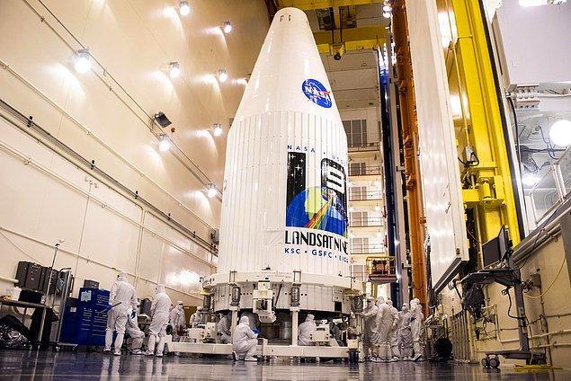 Pazartesi günü fırlatılan Landsat 9, yedinci uydunun yerini alacak.