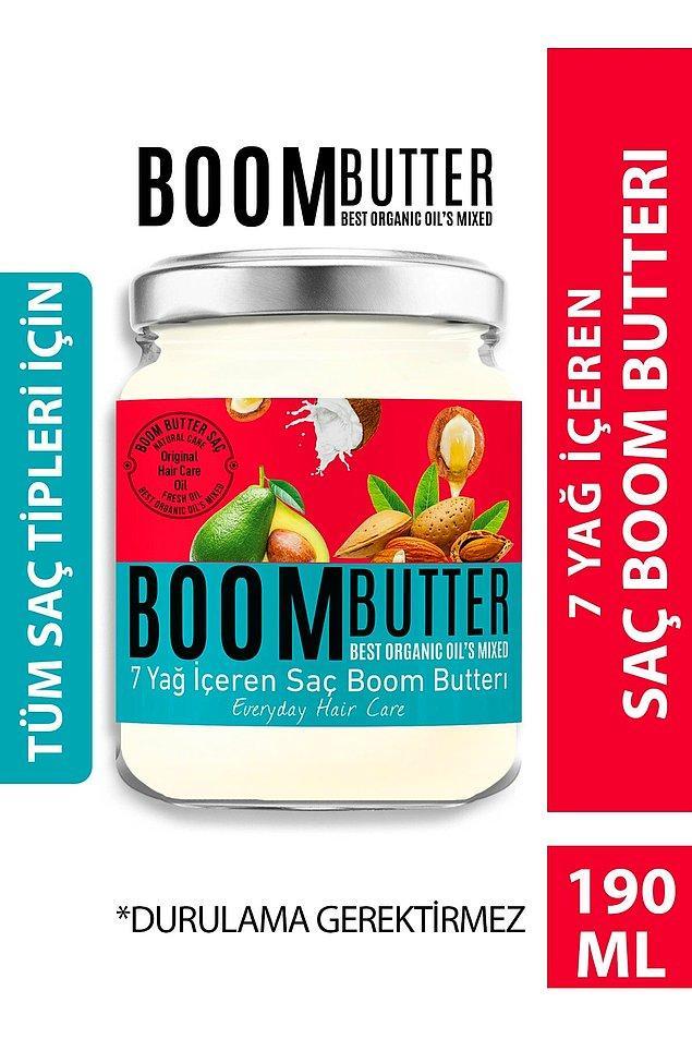 17. Boom Butter Saç Bakım Yağı