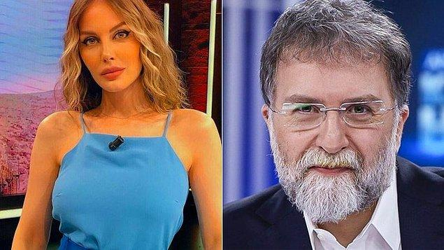 Öte yandan oryantal yaptığı için Hande Sarıoğlu'na hakaret etmekte beis görmeyen Ahmet Hakan, aylar sonra özür diledi.