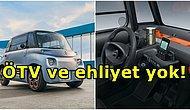 Ehliyet Zorunluluğu Yok! Citroen'in 2 Kişilik Elektrikli Aracı Ami Türkiye'de Satışa Sunuluyor