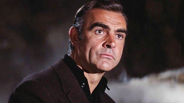14 - Sean Connery'nin maaş çeki bir dünya rekoruydu.