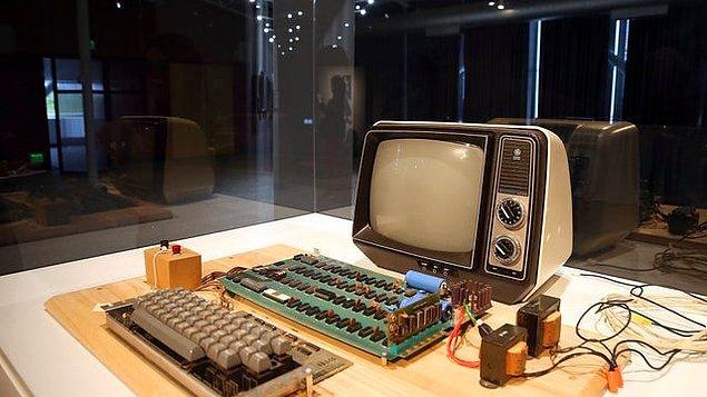 11. Apple'ın ilk bilgisayarı: