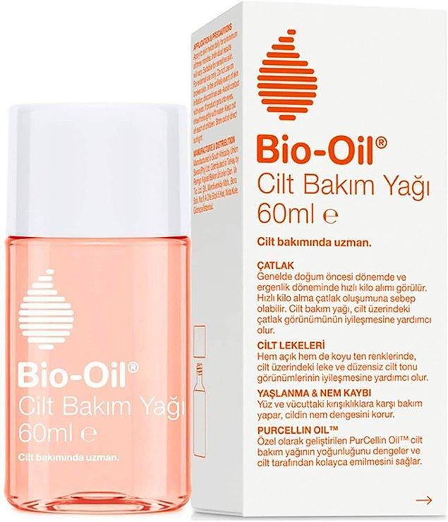 5. Bio-Oil çatlak önleyici cilt bakım yağı, çatlaklar oluşmadan önlemenin en garantili yollarından biri.