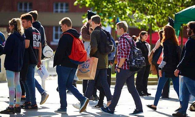 İngiltere'de öğrencilerin yüzde 26'sına yurt imkanı sağlanıyor