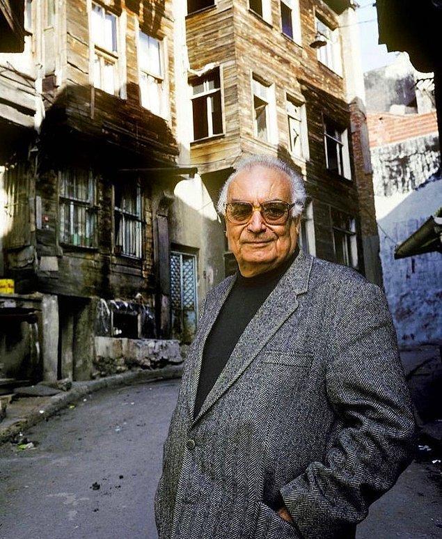 11. Yaşar Kemal, İstanbul, 1990.