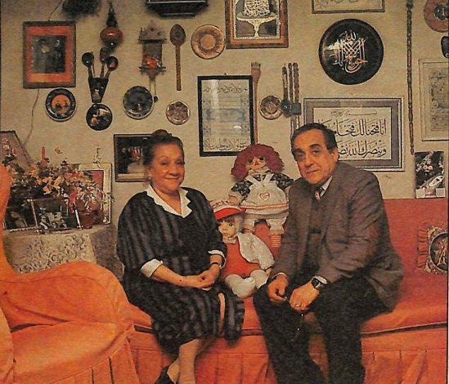 19. Adile Naşit'in evi ve kardeşi Selim Naşit Özcan, İstanbul.