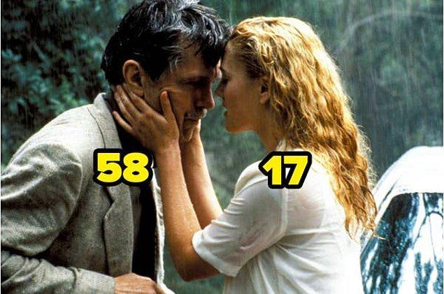 15. Zehirli Sarmaşık filminde, 50 İlk Öpücük'ten tanıdığımız Drew Barrymore daha 17 yaşındaydı.