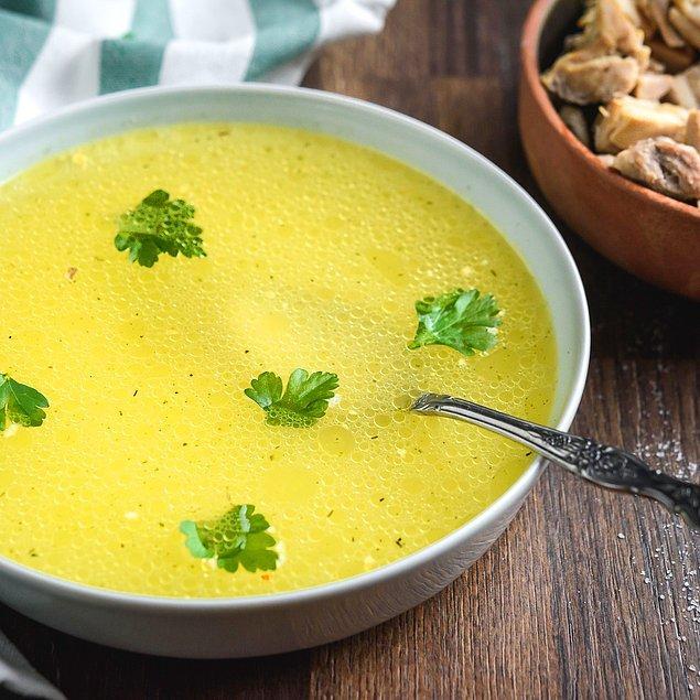 2. Tavuk Çorbası Tarifi
