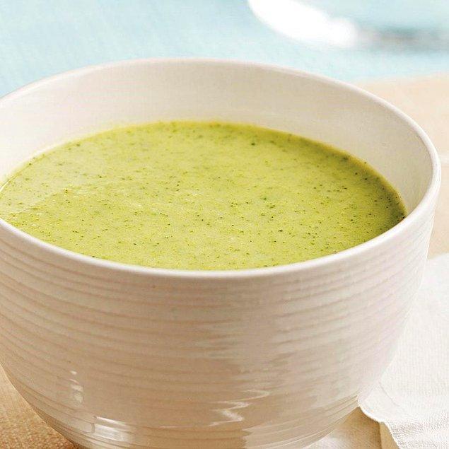 10. Brokoli Çorbası Tarifi