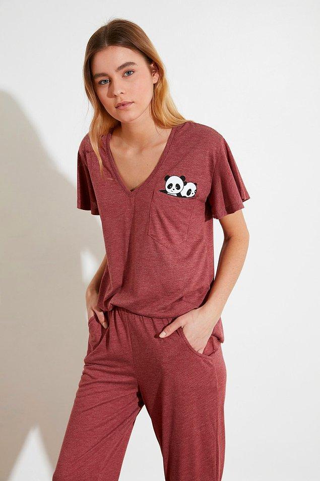 12. Şirin mi şirin pijama ile en sevdiğiniz hayvanı cebinizde taşıyın 😁