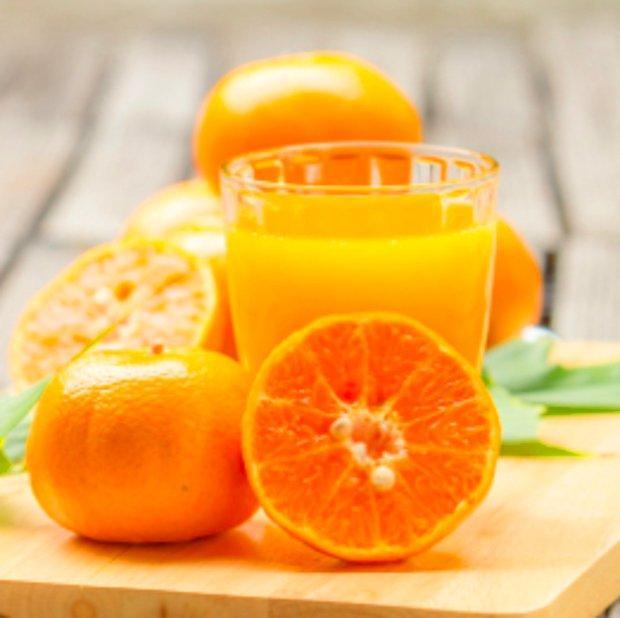 Portakal suyu söylerim.