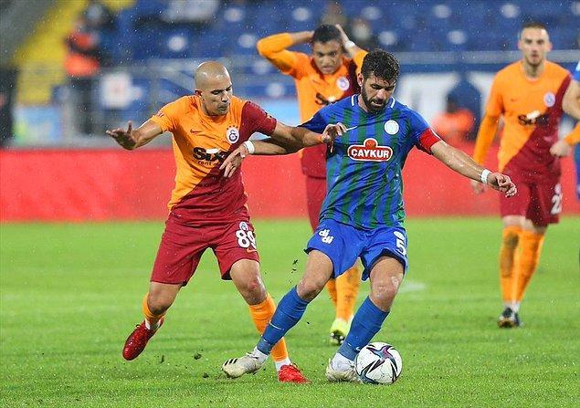 Süper Lig'de 8. hafta maçında Galatasaray deplasmanda Çaykur Rizespor ile karşı karşıya geldi.
