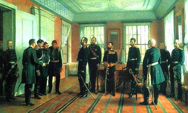 Bir süre Bugot, Bükreş, Harkof ve Rusya'da esaret hayatı yaşar. Rus Çarı Alexander II kendisine büyük saygı duyar ve hatta esaretteyken kılıcını almaz. Ayrıca Çar, kendisine çift başlı kartal nişanı takar.