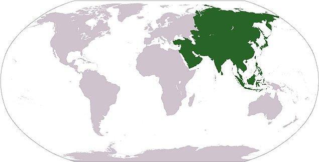 Asya Kıtası Nerededir? Asya Kıtası Ülkeleri Hangileridir?