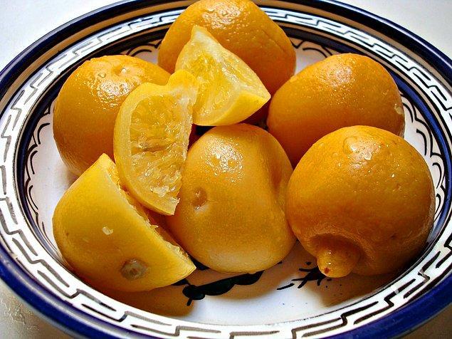 10. Limon Turşusu Tarifi