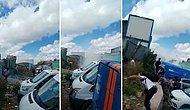 Ümraniye'de Atık Kağıt İşçilerinin Depolarına Ses Bombalı Operasyon Düzenlendi