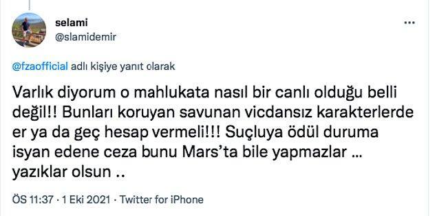 Bu paylaşımdan sonra hem Ezgi Mola'ya hem de Farah Zeynep'e birçok kişi destek verdi.