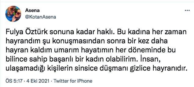 Canlı yayında sinir krizi geçiren Fulya Öztürk'e izleyicilerinden sosyal medya üzerinden destekler yağmaya başladı.