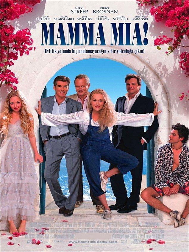 5. Mamma Mia! - IMDb: 6.4