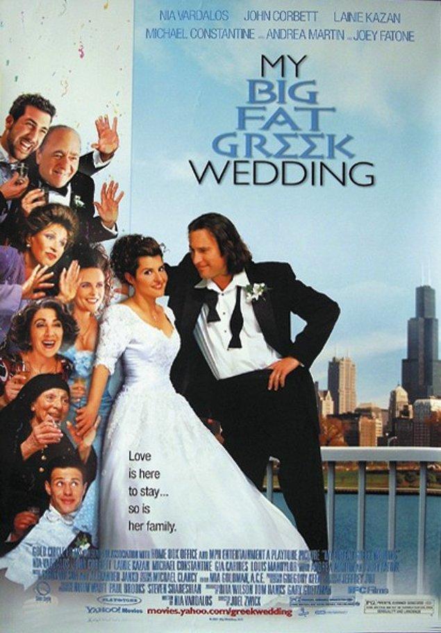 3. My Big Fat Greek Wedding - IMDb: 6.6