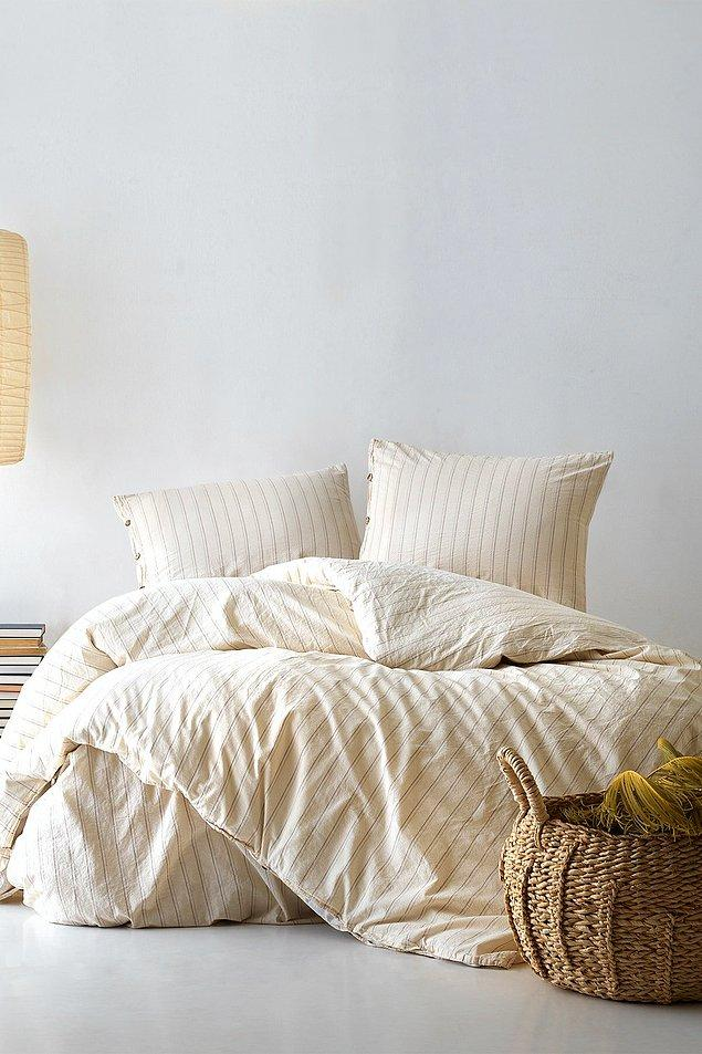 4. Krem ve kahverenginin muhteşem uyumu!