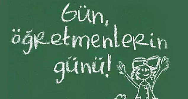 5 Ekim Dünya Öğretmenler Günü Mesajları
