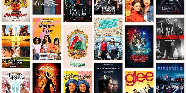 Yayınladığı her yapım ile büyük yankı uyandıran Netflix, yeni bir rekora imza attı.