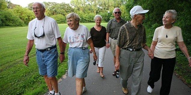 75 yaşına kadar cinsel yaşamları sorunsuz devam ediyor.