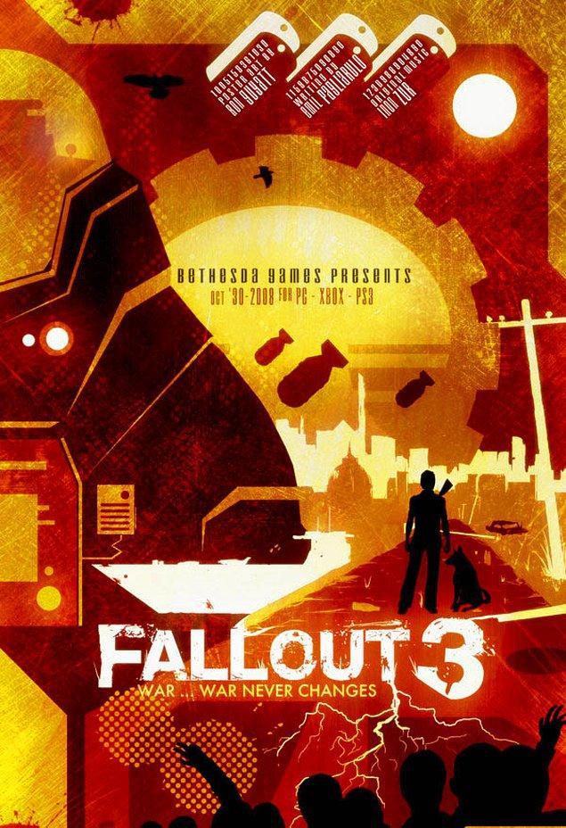 2. Fallout 3 ve gelmiş geçmiş en iyi RPG'ler arasında gösterilen ek paketi New Vegas temalarına oldukça uygun tasarımlara kavuşmuşlar.