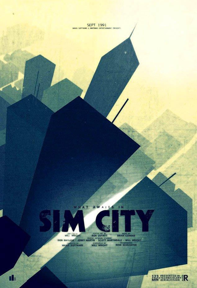 6. Sim City'nin böylesine gizemli ve biraz da ürkütücü görünebileceği hiç aklınıza gelir miydi?