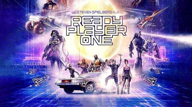 12. Ready Player One (Başlat: Ready Player One) - IMDb: 7.4