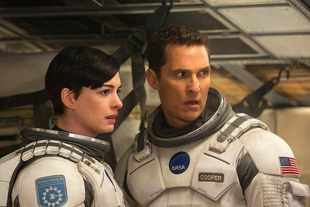 2. Interstellar (Yıldızlararası) - IMDb: 8.6