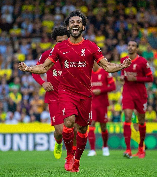 10. Mohamed Salah - 2.5 Milyon Sterlin