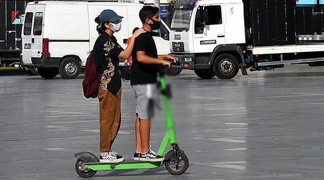 8 ilçede 5 bin 169 scooter kullanımına izin verildi