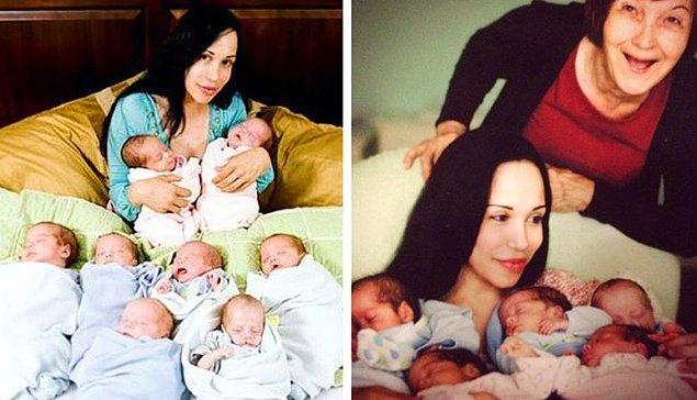 6 çocuk sonrası bir bebeğe daha sahip olmak istemiş.