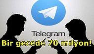 Bir Gecelik Büyük Başarı! Telegram WhatsApp'ın Çöktüğü Gece 70 Milyon Kullanıcı Kazandı