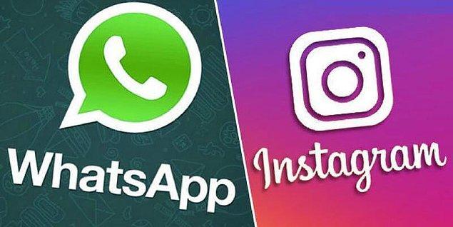 Geçtiğimiz günlerde Facebook'un çökmesi ile şirkete bağlı olan Instagram ve WhatsApp'a da ulaşım kesilmişti.