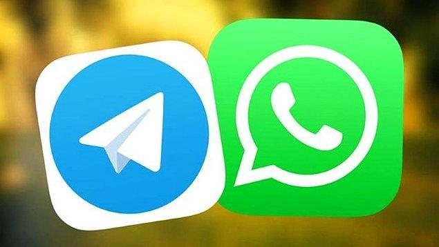 Facebook'a geçmesinin ardından sık sık kesinti yaşayan ve gizlilik sözleşmesi ile gündeme gelen WhatsApp, yıl başından beri sürekli Telegram'a kullanıcı kaptırıyor.