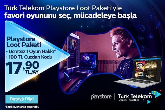 Playstore Loot Paketi'yle Oyun Keyfini Katla!